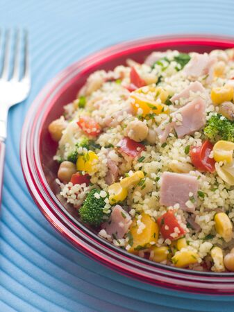 Ham and Vegetable Cous Cous photo