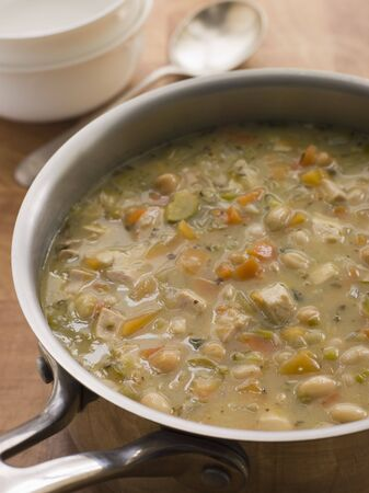 Farmhouse Chicken and Vegetable Soup photo