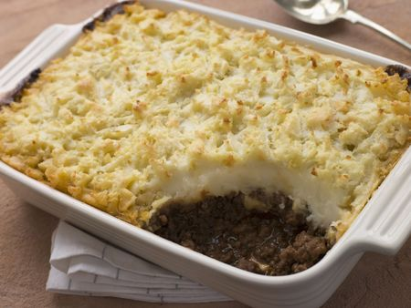 minced pie: Cottage Pie in a Dish