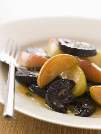 Black Pudding Apples and Cider photo