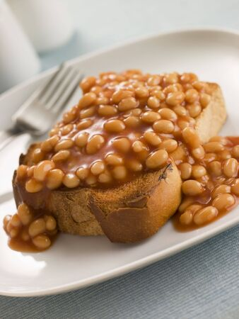 baked beans: Baked Beans on Toast