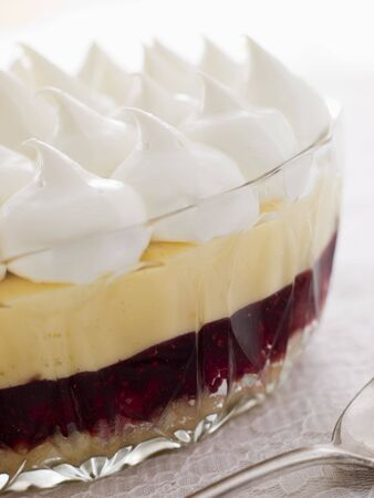trifle: Bowl of Sherry Trifle