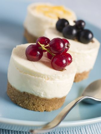 Trio of Individual Cheesecakes photo