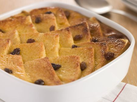 pudding: Bread and Butter Pudding in a Dish