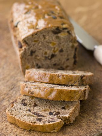 Slices from a Loaf of Bara Brith photo