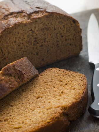 guy fawkes: Sliced Loaf of Parkin