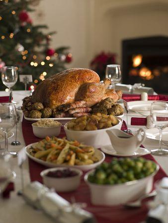 turkey bacon: Arrosto di tacchino di Natale Spread