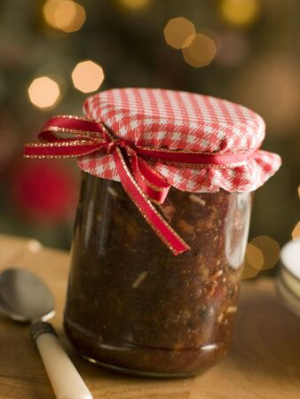 macerated: Jar of Mincemeat