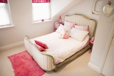 Empty bedroom photo