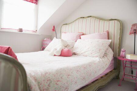 interior lighting: Empty bedroom