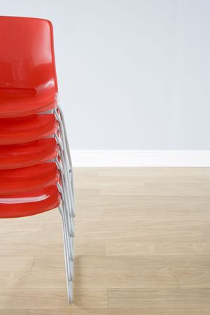 Stack Of Chairs Stock Photo - 3709624