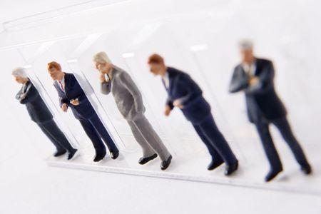 male likeness: L�nea de los empresarios Figurines