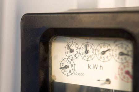 contador electrico: Medidor de electricidad