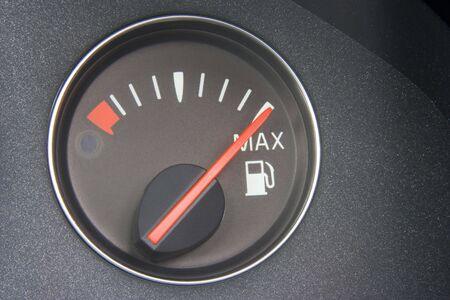 Fuel Gauge Reading Full photo