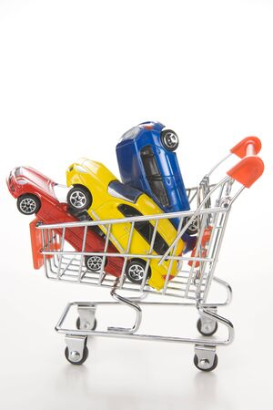 Shopping For Cars Stock Photo - 3712343