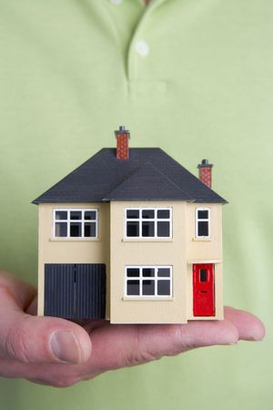 Model House Stock Photo - 3712405
