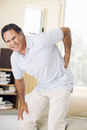 Man With Back Pain photo