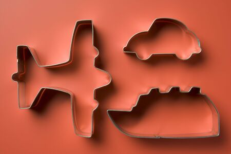 Airplane Shaped Cookie Cutters photo