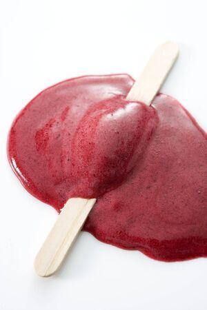 helados con palito: Derretido y paletas Stick