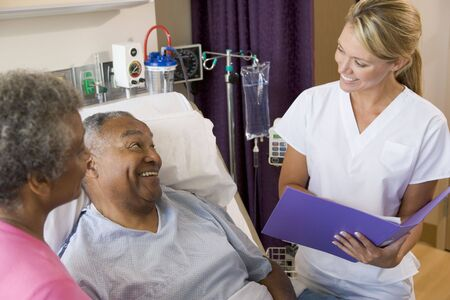 Doctor Making Notes About Patient Stock Photo - 3724723