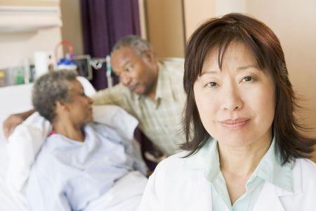 visitador medico: Enfermera Permanente habitaci�n en el hospital