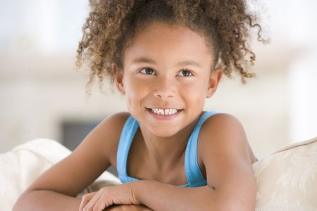Portrait Of Young Girl photo