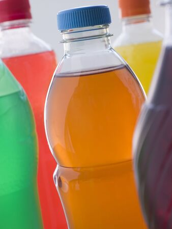 Selection Of Fizzy Drink Bottles photo
