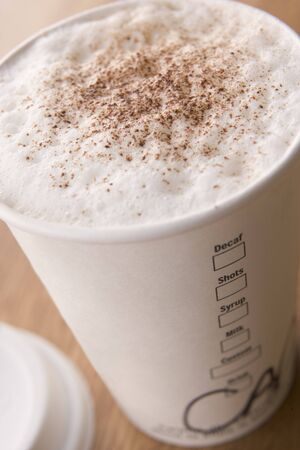 Close Up Of Hot Chocolate photo