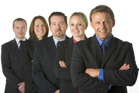 Team Of Business People photo