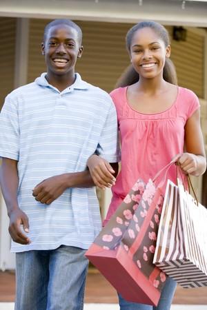 Teenage Couple Stock Photo - 4446997