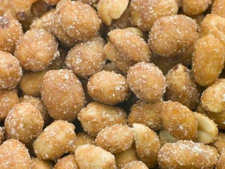 Salted peanuts photo