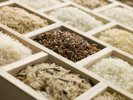 Selection of Rices Stock Photo - 4506893