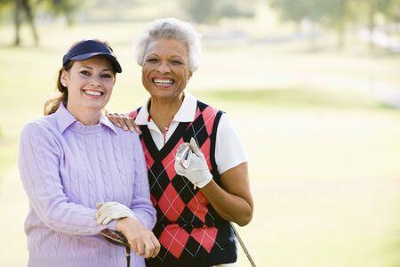 Female Friends Enjoying A Game Of Golf Stock Photo - 4506880