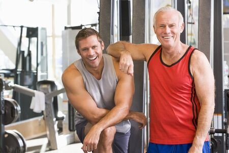 Men At The Gym Together Stock Photo - 4507503