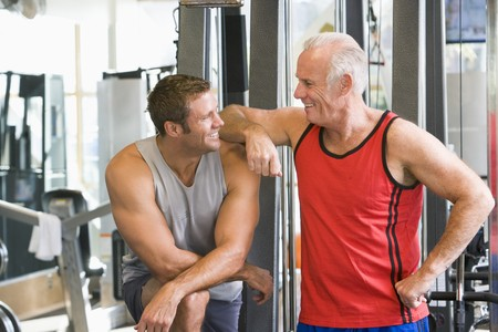 fourties: Men At The Gym Together