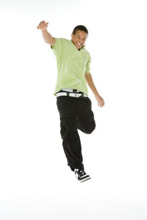 exuberant: Portrait Of Teenage Boy