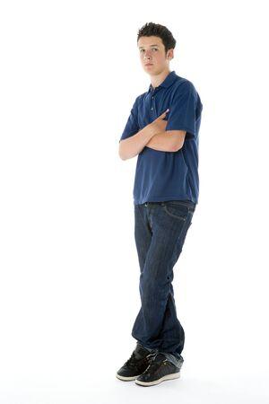 boy 16 year old: Portrait Of Teenage Boy