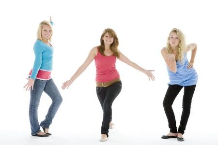 chicas adolescentes: Ni�as adolescentes felices