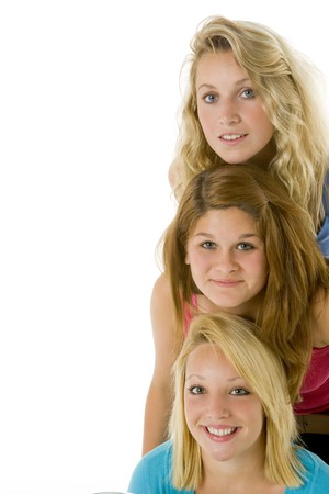 Portrait Of Teenage Girls Stock Photo - 4507312