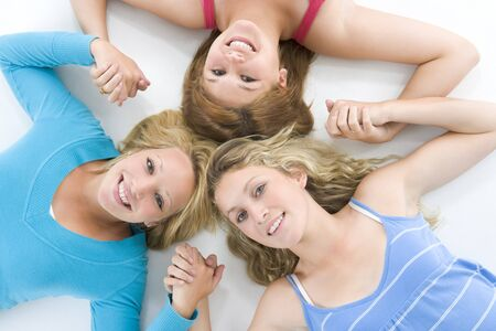 Portrait Of Teenage Girls Stock Photo - 4507565