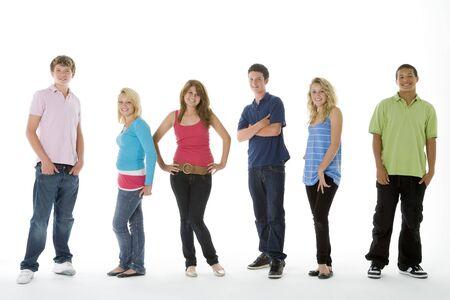 Group Shot Of Teenagers photo
