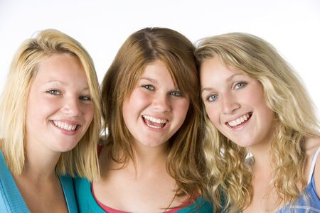 Portrait Of Teenage Girls photo