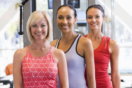 Portrait Of Women At Gym photo