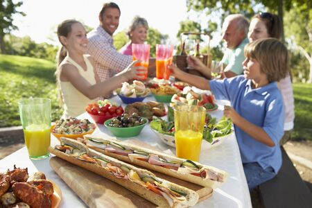 Family Dining Al Fresco photo