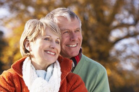 Portrait Of Senior Couple Hugging Stock Photo - 4513950
