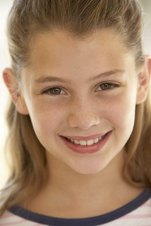 Portrait Of Girl Smiling Stock Photo - 4547250