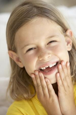 Portrait Of Girl Smiling photo