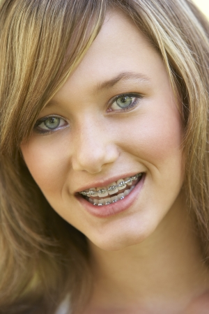 Portrait Of Girl Smiling photo