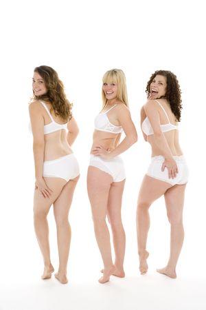 Portrait Of Women In Their Underwear Stock Photo - 4605885