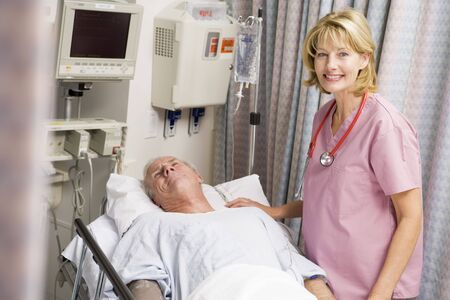 caring for: Doctor Caring For Patient